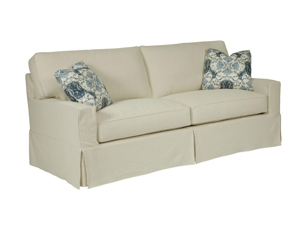 Kincaid furniture living room sarah slipcover sofa 649 96 for Furniture 96