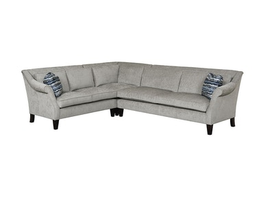 Kincaid Furniture Dilworth Sectional 681-Sectional