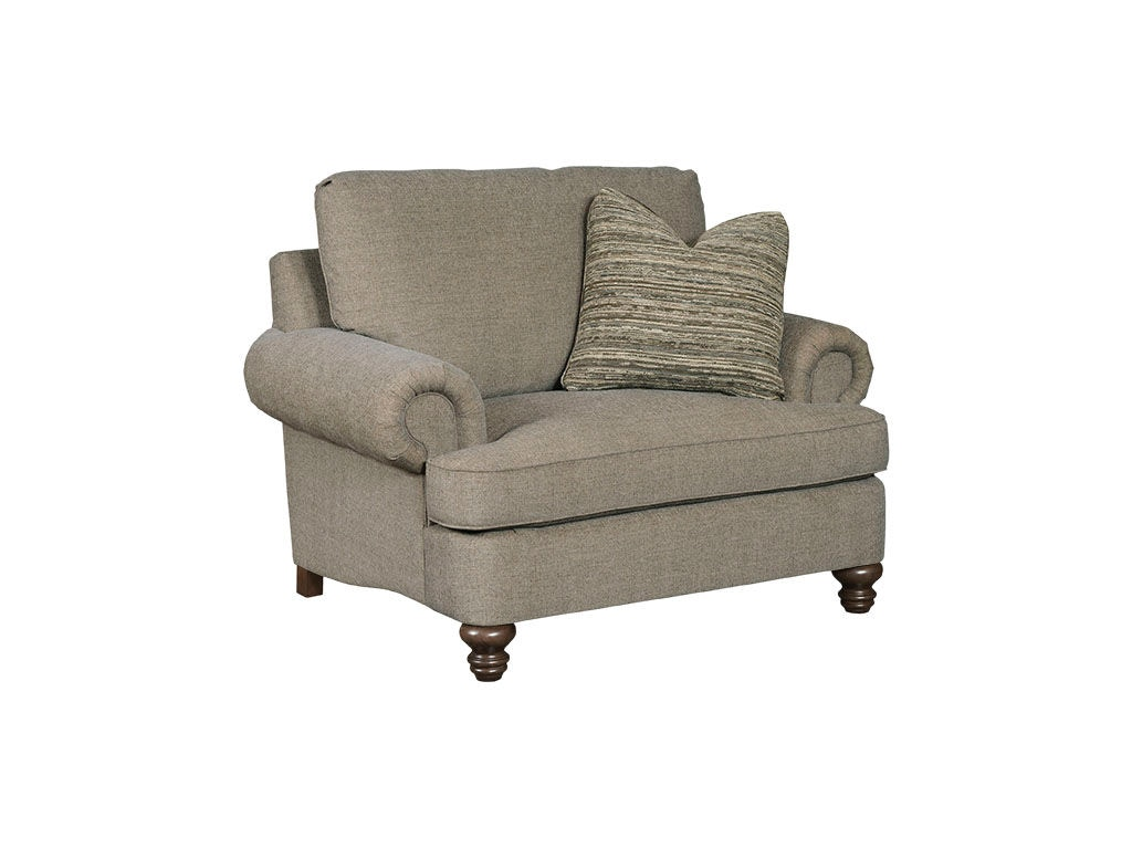 Kincaid Furniture Living Room Avery Chair and a Half 697 81