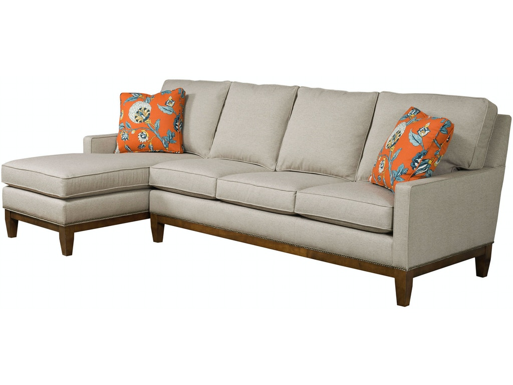 Kincaid furniture living room montreal sectional 698 for Oriental furniture montreal