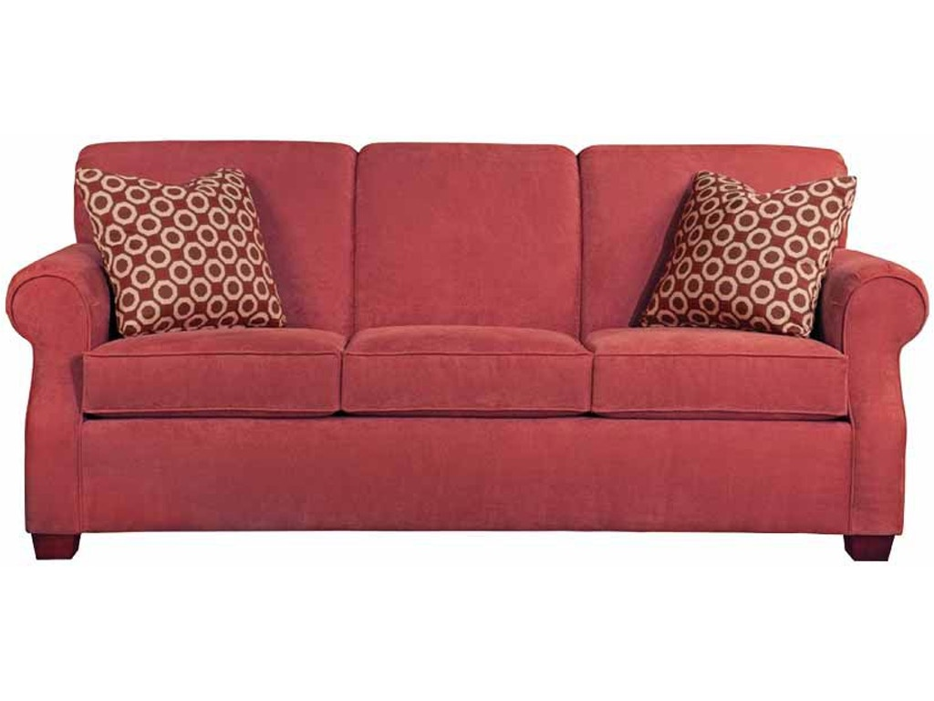 Kincaid Furniture Living Room Lynchburg Sofa 814 86 Priba Furniture And Interiors Greensboro