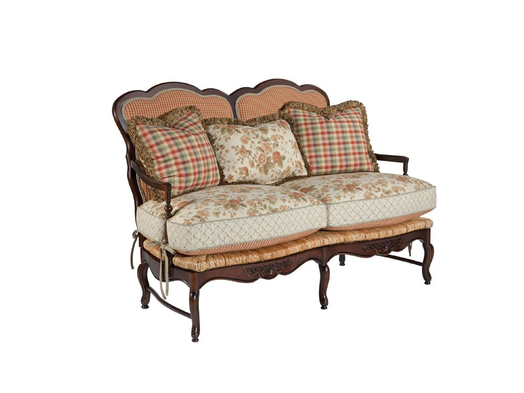 Kincaid Furniture Living Room Settee 825 05 Priba Furniture And Interiors Greensboro North