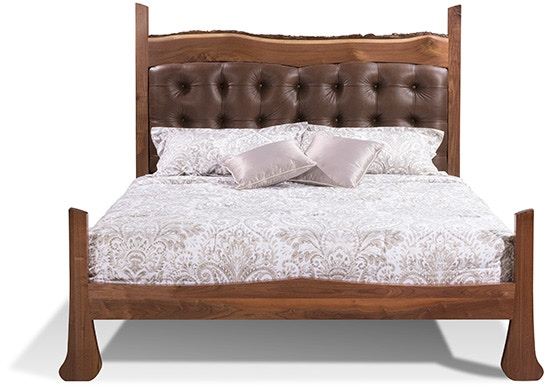 harden cherry bedroom furniture live edge bed prices