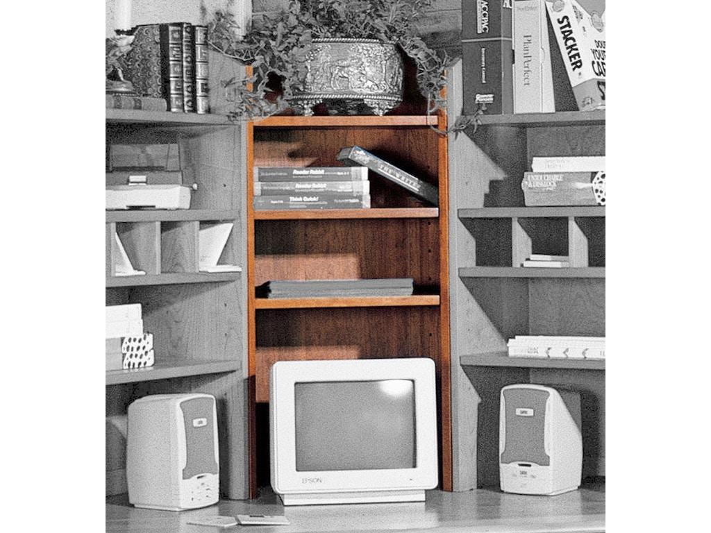 Harden Furniture Home Office Short Corner Bookcase 1167
