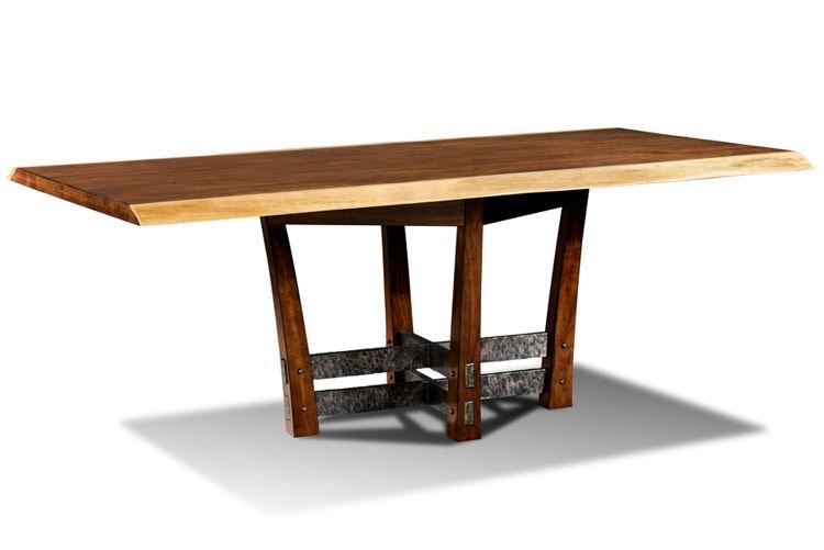 Harden Furniture Dining Room Live Edge Cherry WoodIron  : 13f2003c 6541 4b7a a65a 357e23dc8dfd from www.mcelherans.com size 1024 x 768 jpeg 29kB