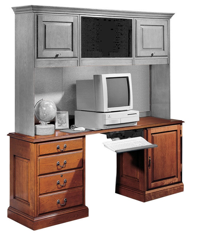 Harden Furniture Credenza/Hutch Station 1731