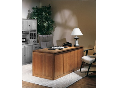 Harden Furniture Double Pedestal Desk 1750
