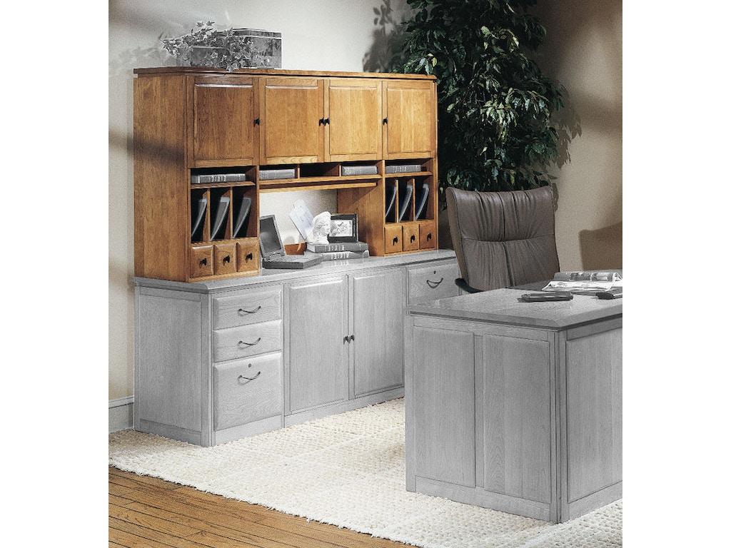 Harden Furniture Home Office Storage Hutch 1771 Eldredge