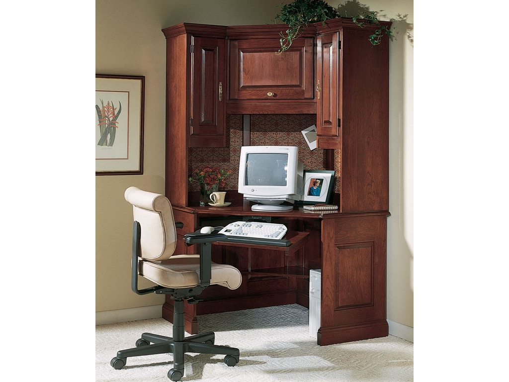 Harden furniture home office corner work station 1749 eldredge furniture salt lake city ut - Home office furniture salt lake city ...