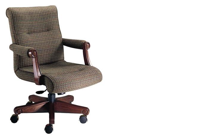 Delightful Harden Furniture Mid Back Ergonomic Chair 1702