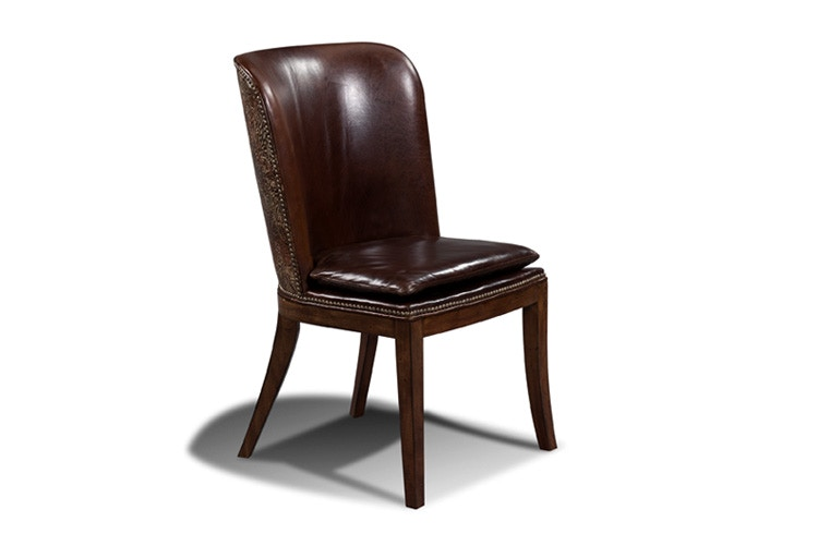 harden furniture dining room dining chair 1618 san diego fabric dining chair with walnut legs