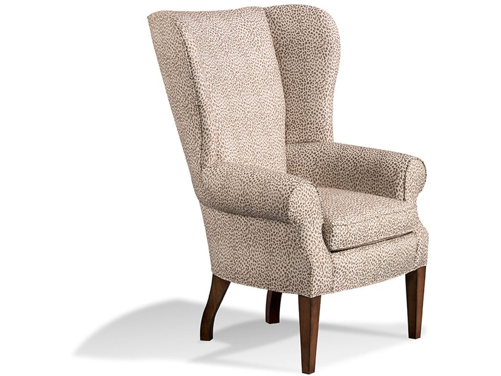 Harden Furniture Living Room Wing Chair 7465 000 Pala Brothers Wilmington De