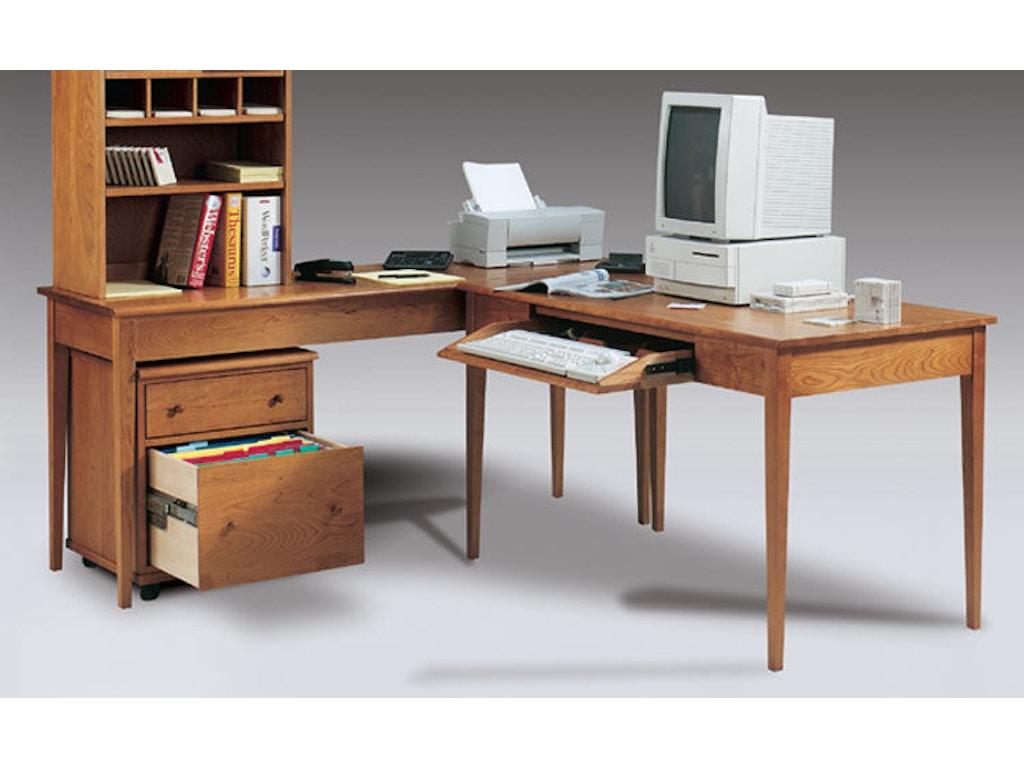 Harden Furniture Home Office Desk With Keyboard Drawer