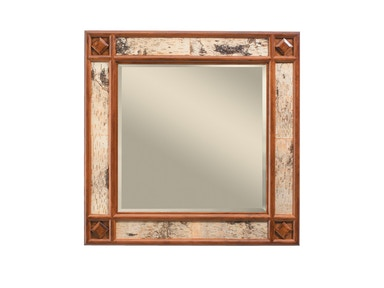 Harden Furniture Whiteface Mirror 1638
