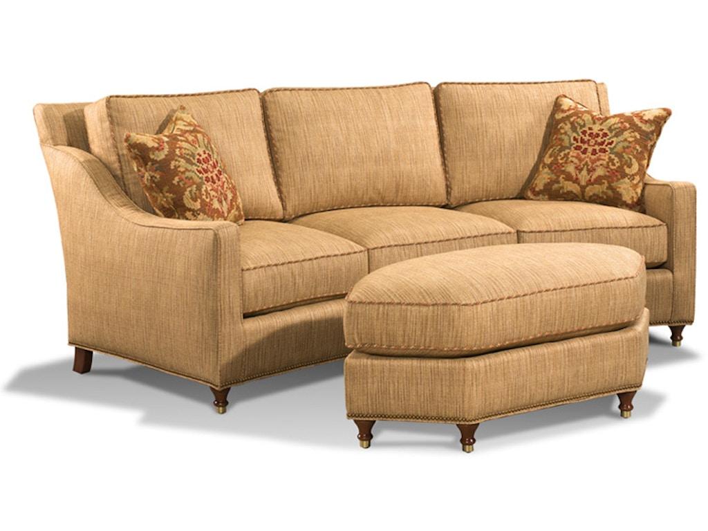 Harden Furniture Living Room Hayes Wedge Sofa 9621 096 Georgia Furniture Savannah Ga