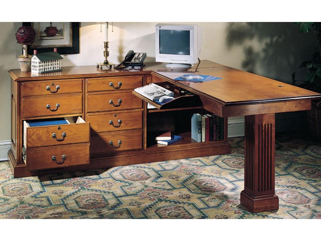 Harden furniture home office left work station 1745 gladhill furniture middletown md - Home office furniture maryland ...