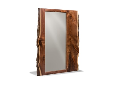 Harden Furniture Live-edge Floor Mirror 1656
