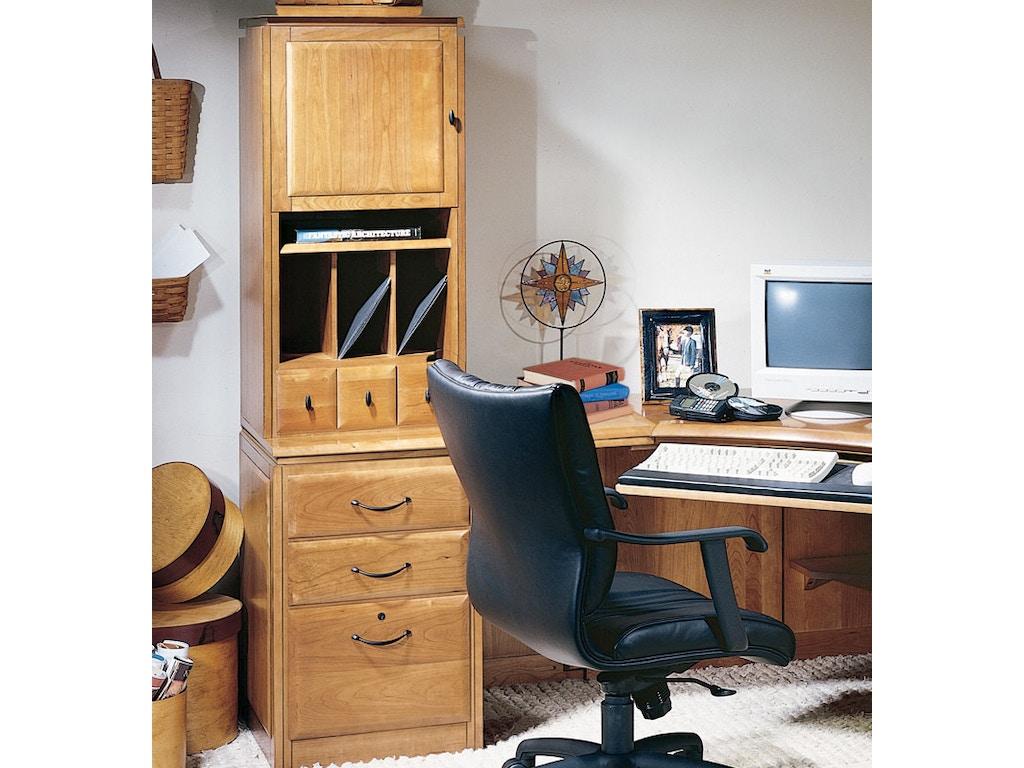 Harden Furniture Home Office Organizer Hutch 1774