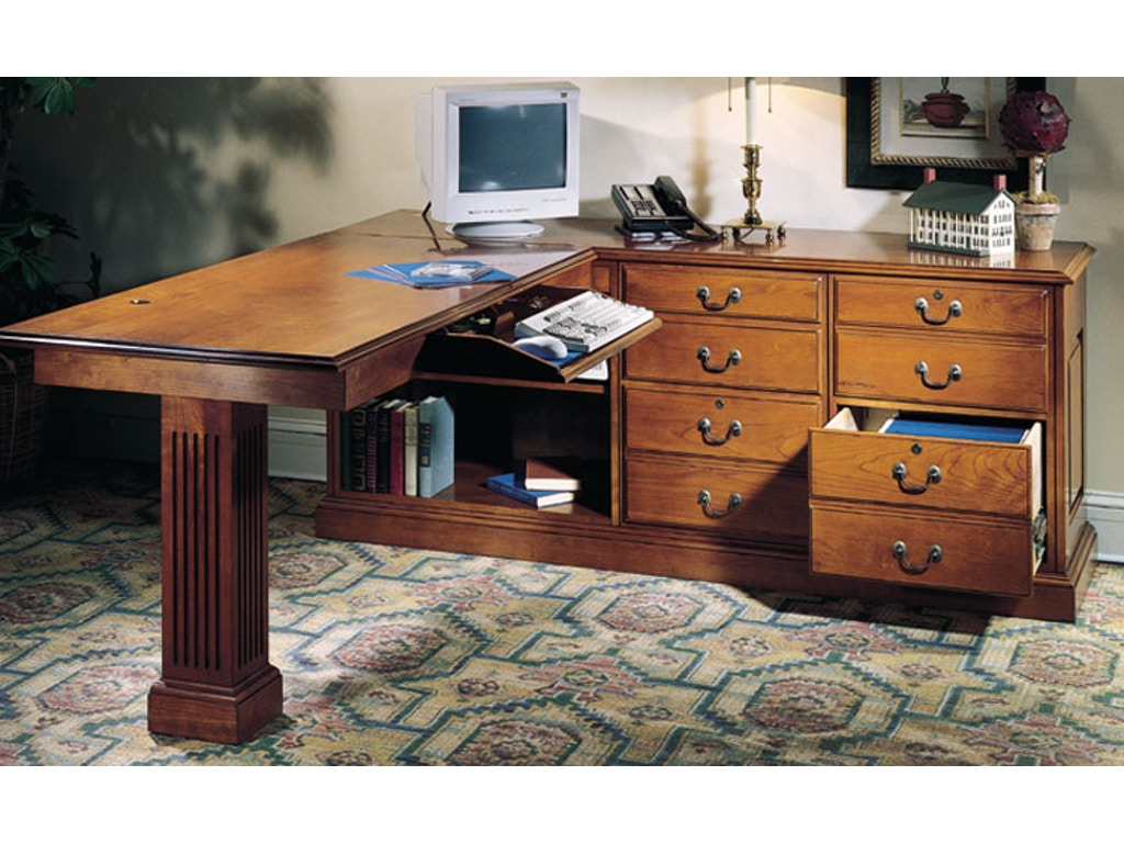 Harden Furniture Home Office Right Work Station 1744