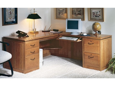 Harden Furniture Right L-shaped Desk Unit 1752