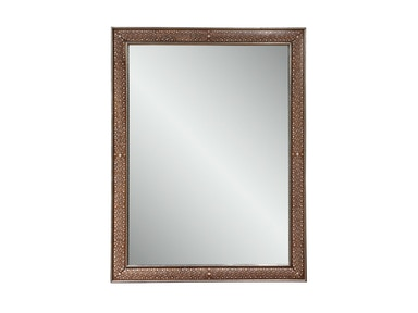 Harden Furniture Rectangular Bone Inlaid Mirror 177