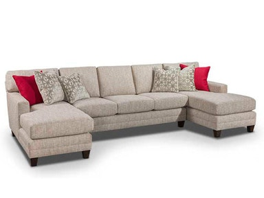 Harden Furniture Sectional 7901 Sectional 051-52