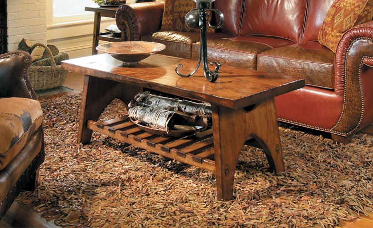 Harden Furniture Overland Cocktail Table 1655 052
