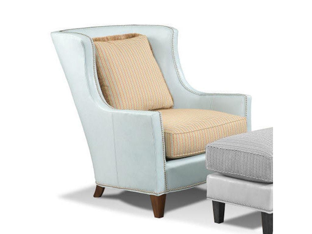 Harden Furniture Living Room Wing Chair 8409 000 Saxon Clark Furniture Patio Design