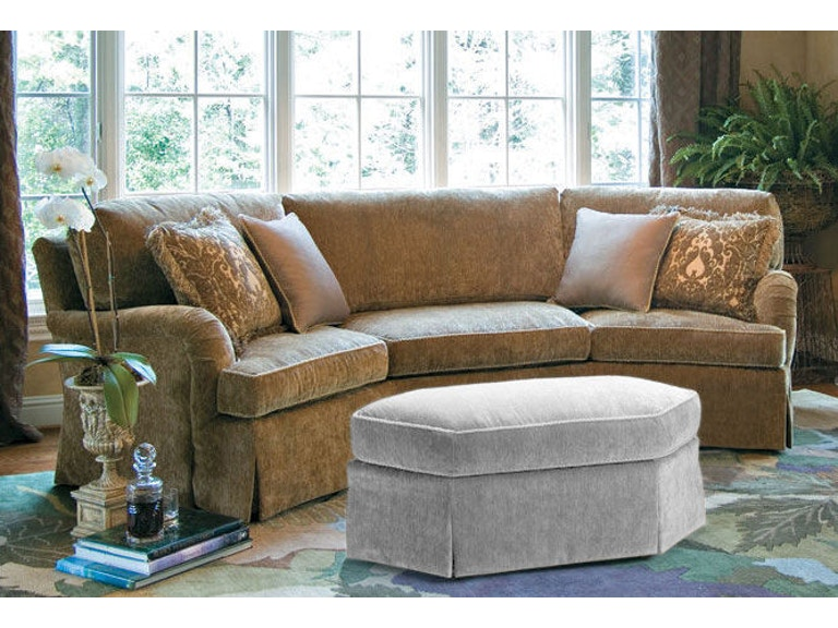 Harden Furniture Warren Wedge Sofa 9619 120