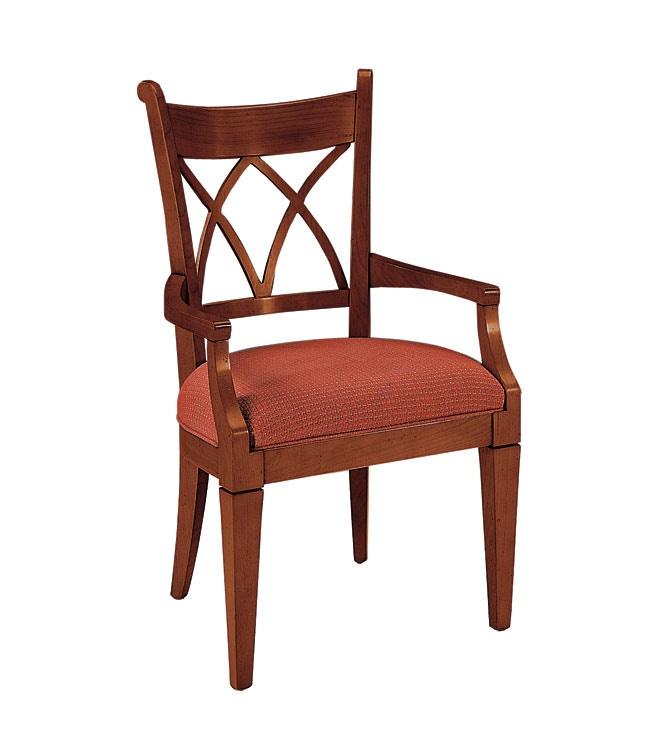 Harden Furniture Trellis Arm Chair 1888