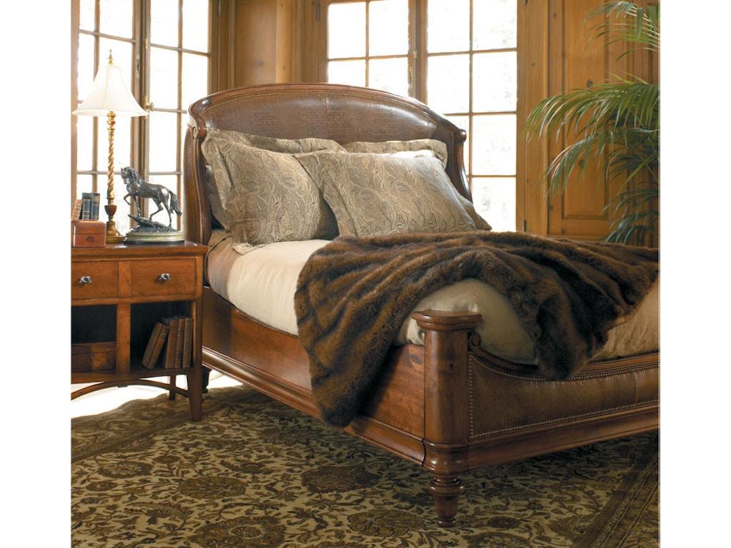 Harden furniture bedroom ogden upholstered bed 1612 for Bedroom furniture hickory nc