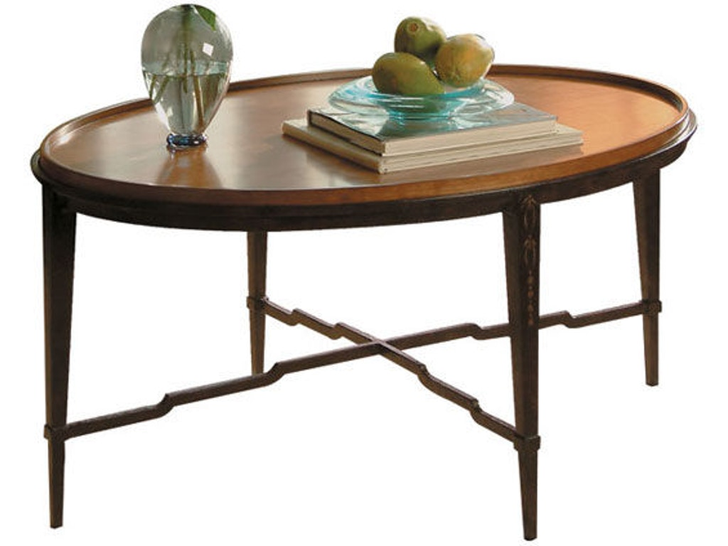 Harden Furniture 1467 Oval Cocktail Table Interiors Camp Hill Lancaster