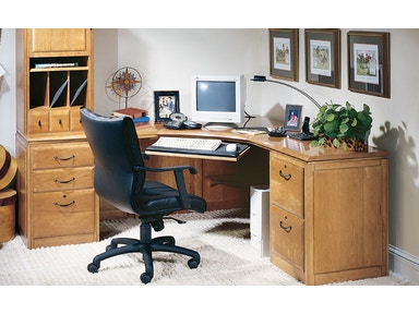 Harden Furniture Left Corner Work Station 1757