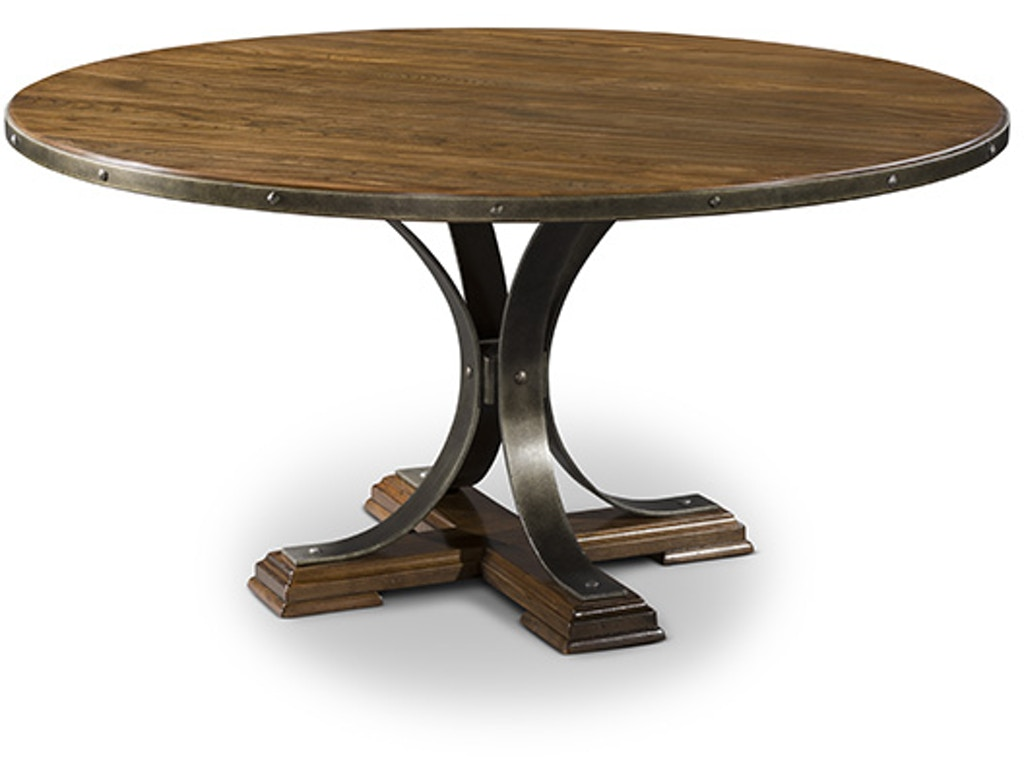 Harden furniture dining room dining table 3326 priba for Table 6 greensboro nc