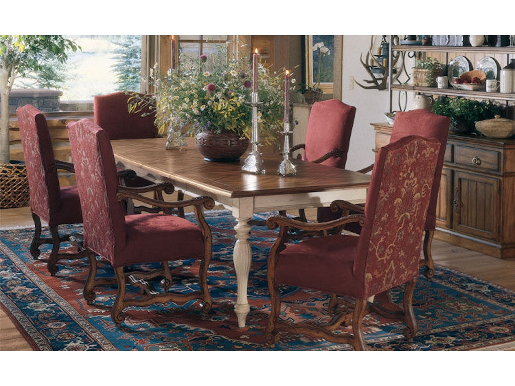 Harden Furniture Dining Room Lattice Top Dining Table 1360-2 ...