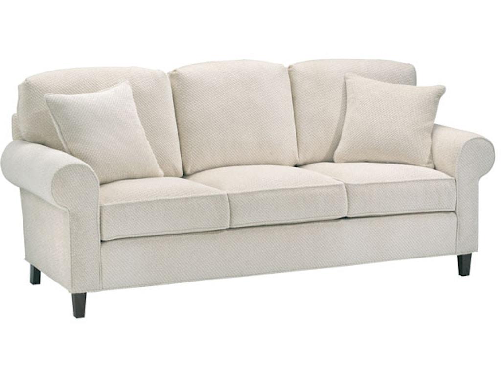 Harden furniture living room roxanne sofa 6516 085 for Sectional sofas in savannah ga