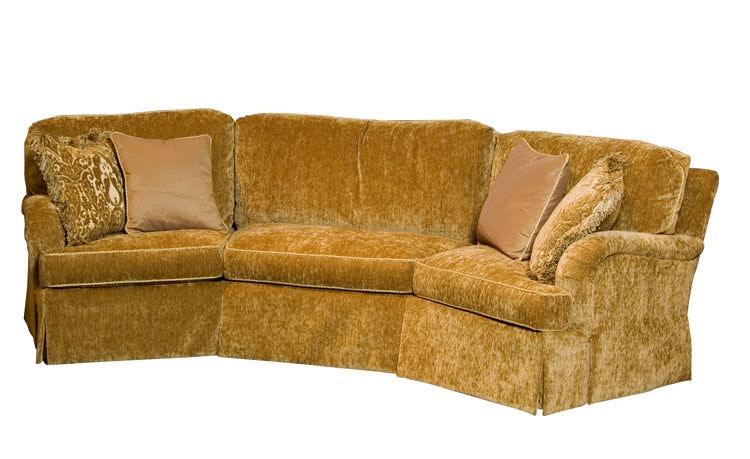 Harden Furniture Warren Wedge Sofa 9619 120