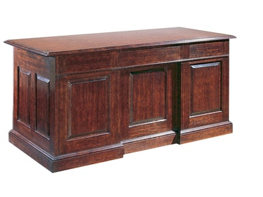 Harden Furniture Double Pedestal Desk 1735