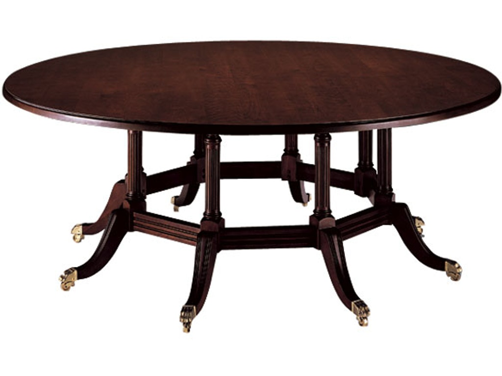 Harden Furniture Dining Room Traditional Custom Dining Table 520 ...