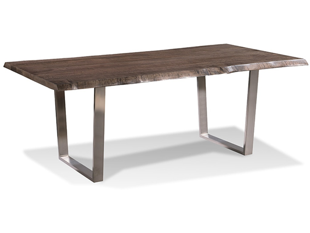 Harden furniture dining room liveedge brushed stainless for Table 52 petroleum