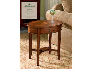 Heather Brooke Baker End Table A6189-12