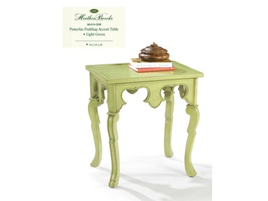 Heather Brooke Pistachio Pudding Accent Table - Light Green A6410-208