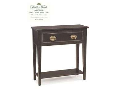 Heather Brooke Black Currant Accent Table A6470-208