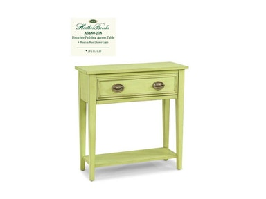 Heather Brooke Pistachio Pudding Accent Table A6480-208