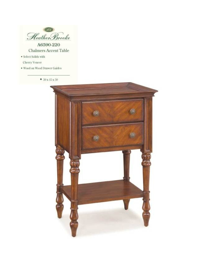 Heather Brooke Chalmers Accent Table A6590 220