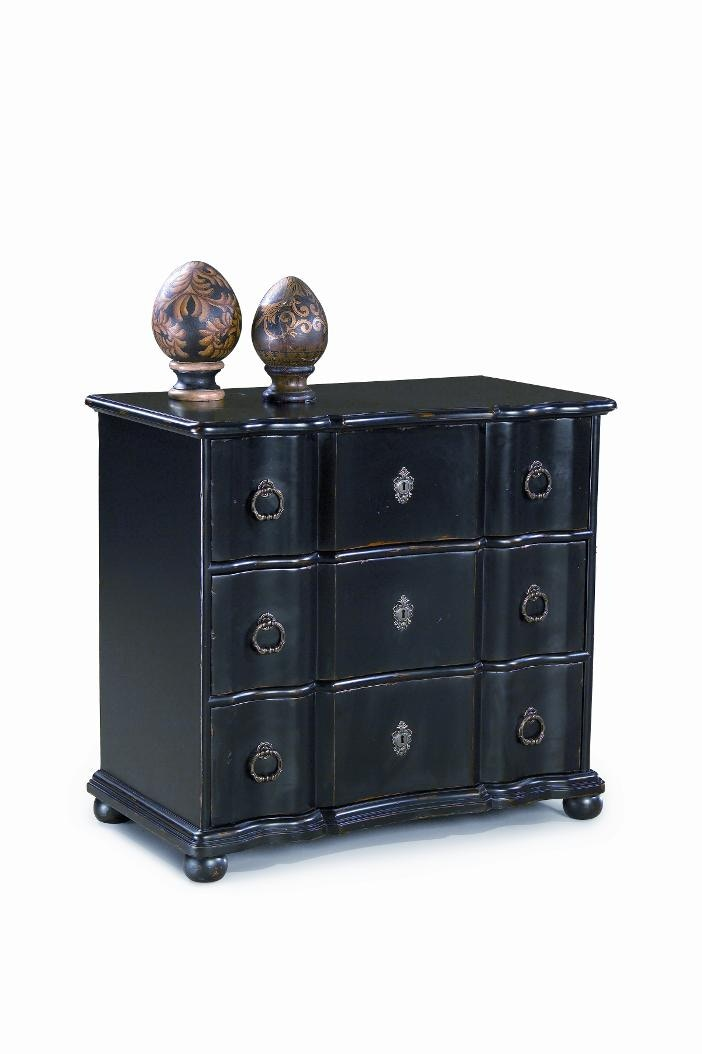 Beau Heather Brooke Damon Antique Black Accent Chest C6148 43