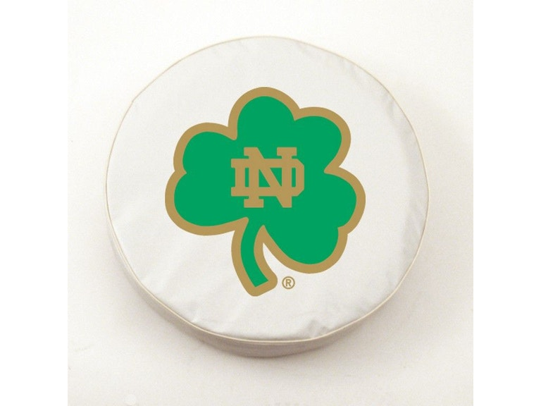 Holland Bar Stool Accessories University Of Notre Dame Shamrock Logo Tire Cover Tcnd Shmwt Tip Top Furniture Freehold Ny