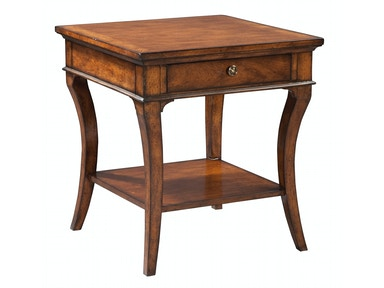 Hekman European Legacy Square End Table 1-1104