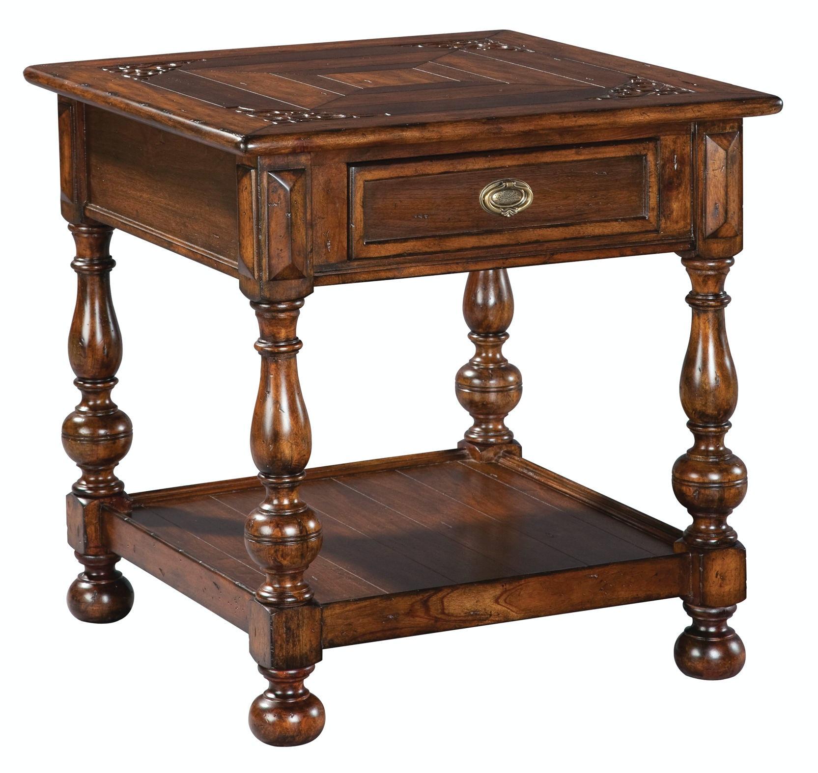 Hekman Lamp Table 11801