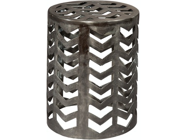 Chevron Garden Stool Table